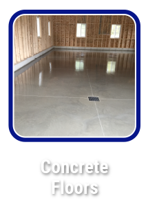 Click to learn about concrete floors by Hortons Concrete Owen Sound, Markdale, Meaford, Collingwood.
