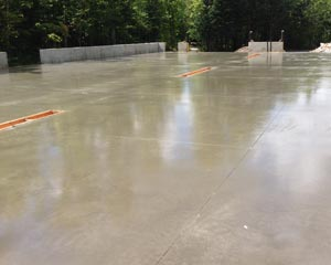 Horton Concrete Stamped concrete finish
