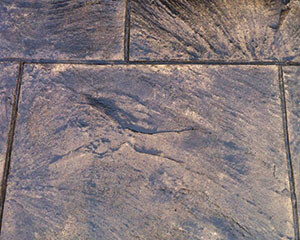 Hortons Concrete stamped concrete finish